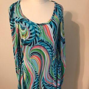 Lilly Pulitzer paisley swirl dress